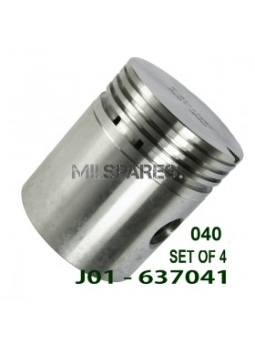 Piston and pin set, 040