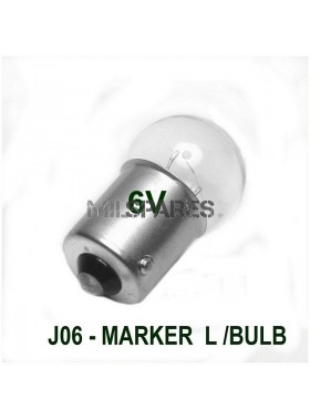 Marker Light Bulb 6V. 4 Watt