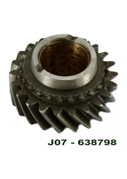 T84, gear, 2nd, mainshaft