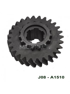 D18, gear, main shaft