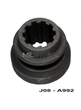D18, output shaft clutch gear